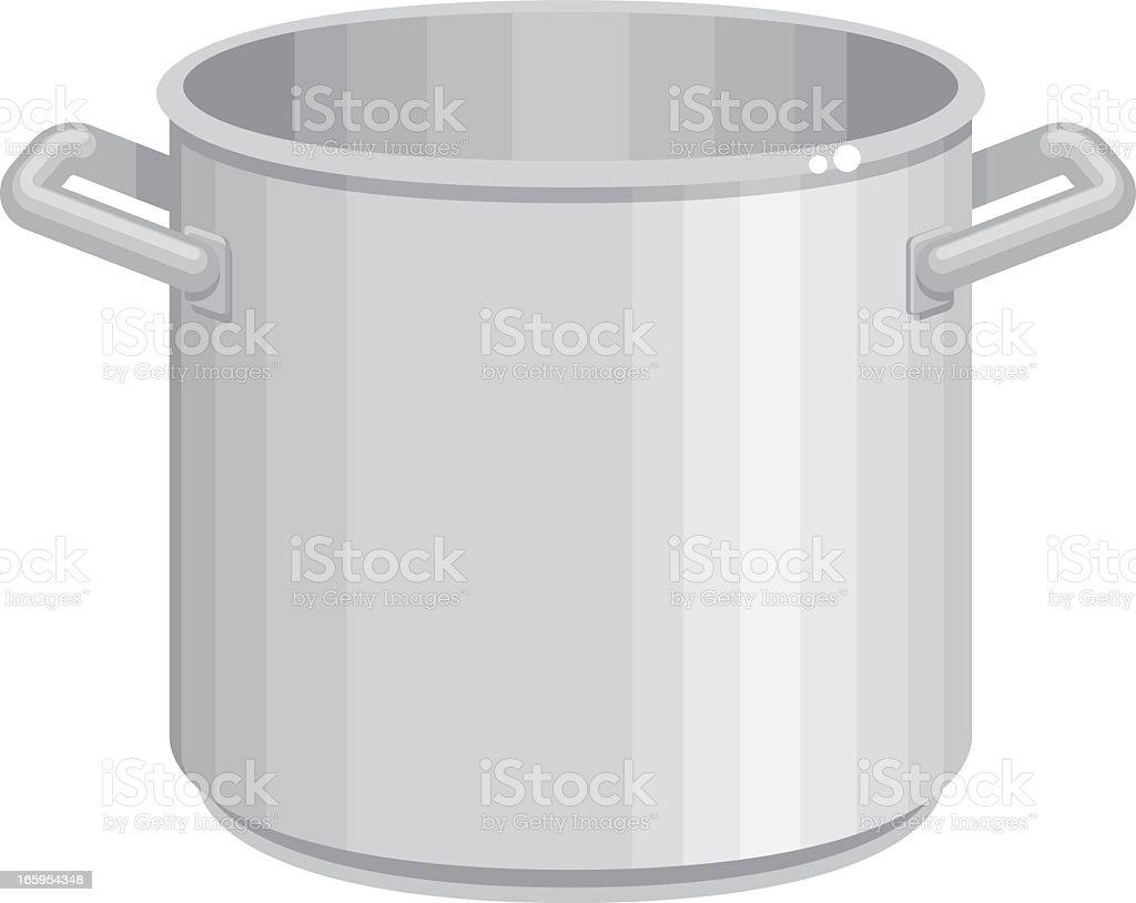 Stock Pot Icon royalty-free stock vector art