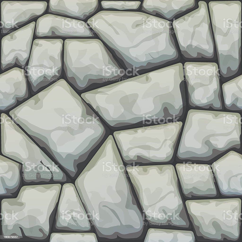 Stone Seamless Pattern royalty-free stock vector art