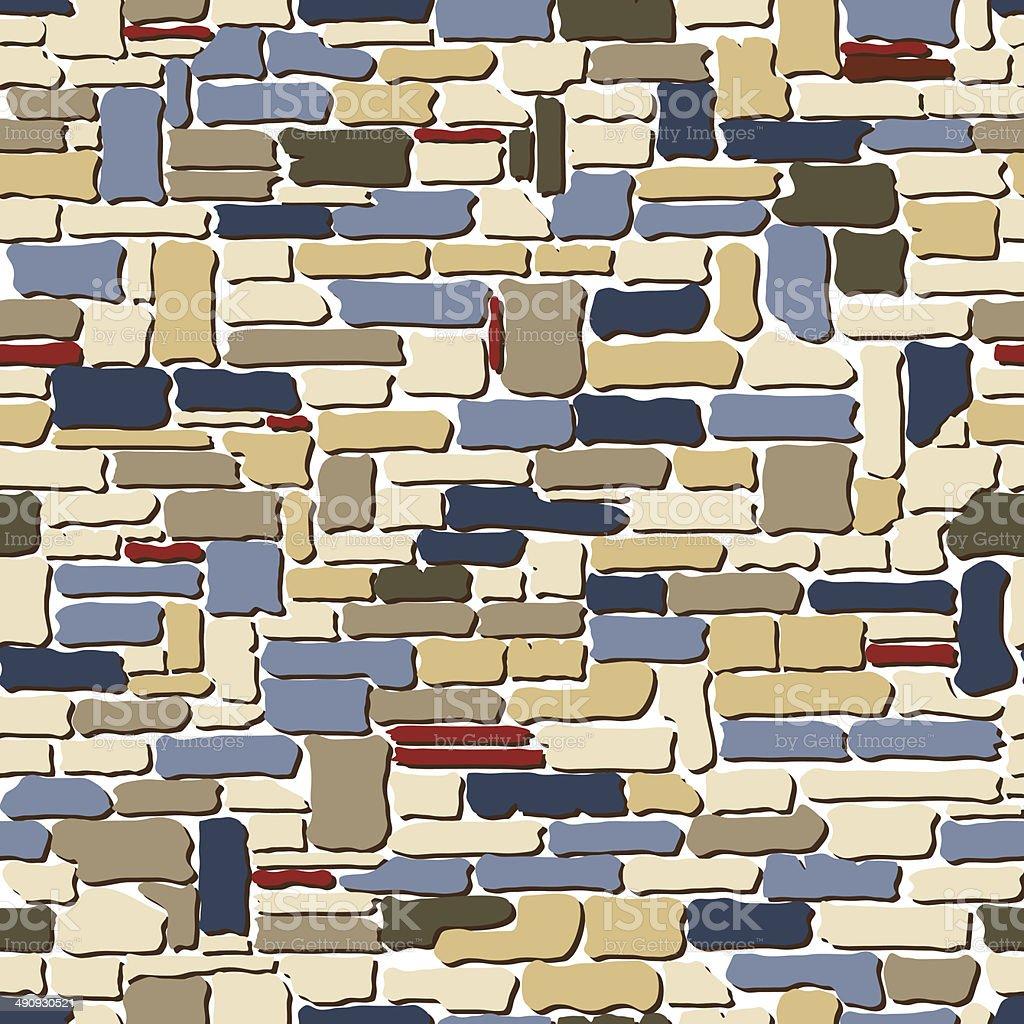 Stone seamless pattern. royalty-free stock vector art