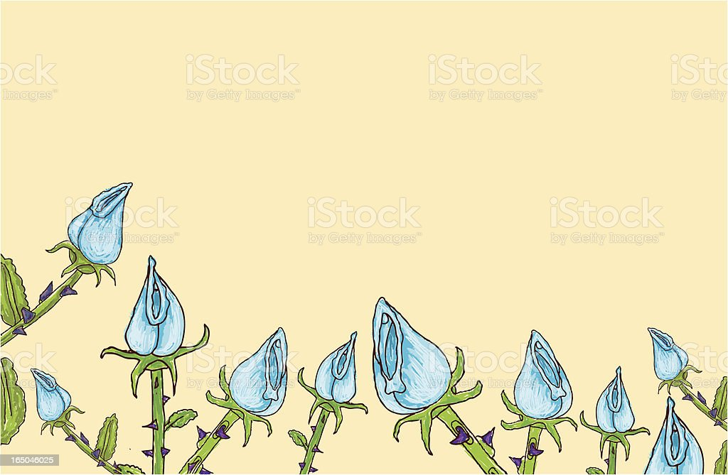 Stop and smell em' royalty-free stock vector art