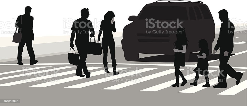 Stopped royalty-free stock vector art