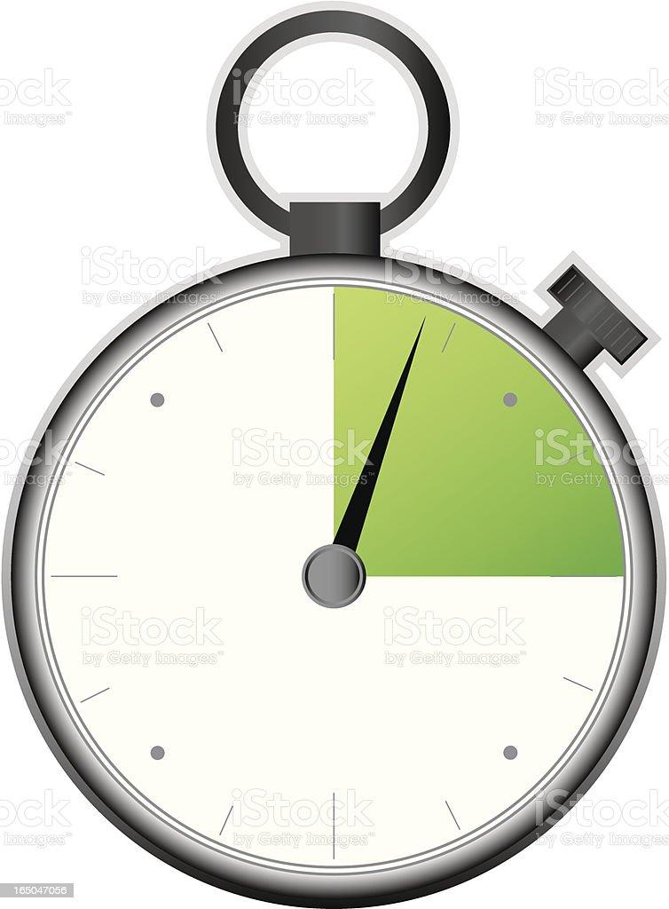 Stopwatch vector  *** Hi res JPG included *** royalty-free stock vector art