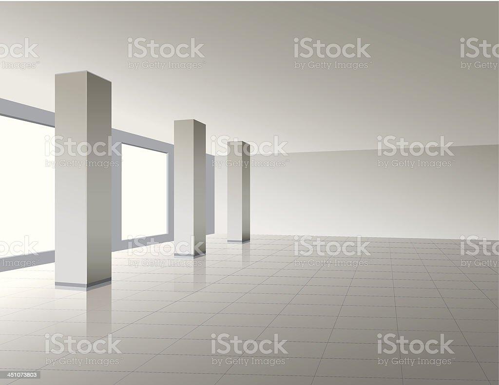 storehouse vector art illustration