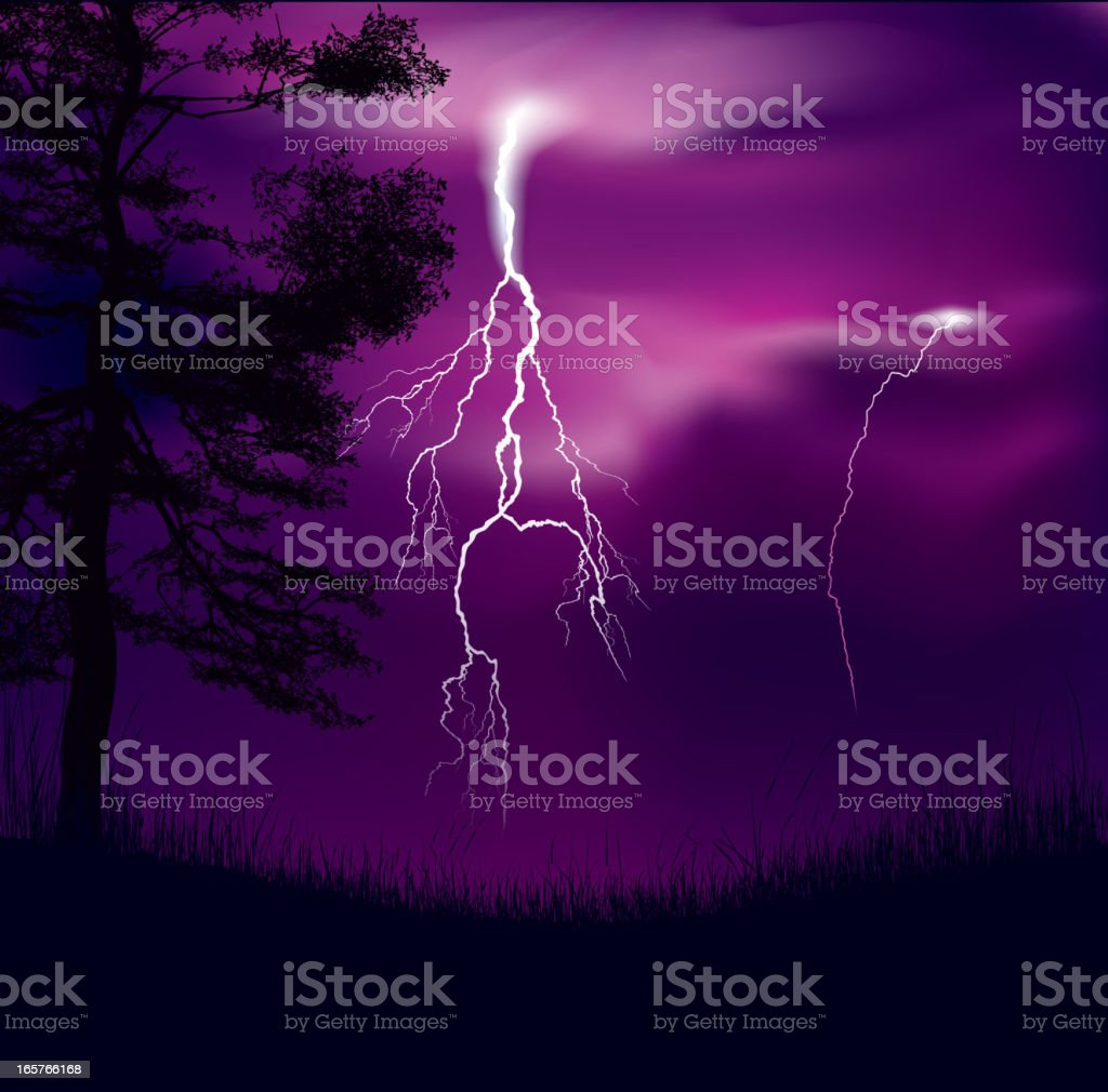 Storm royalty-free stock vector art