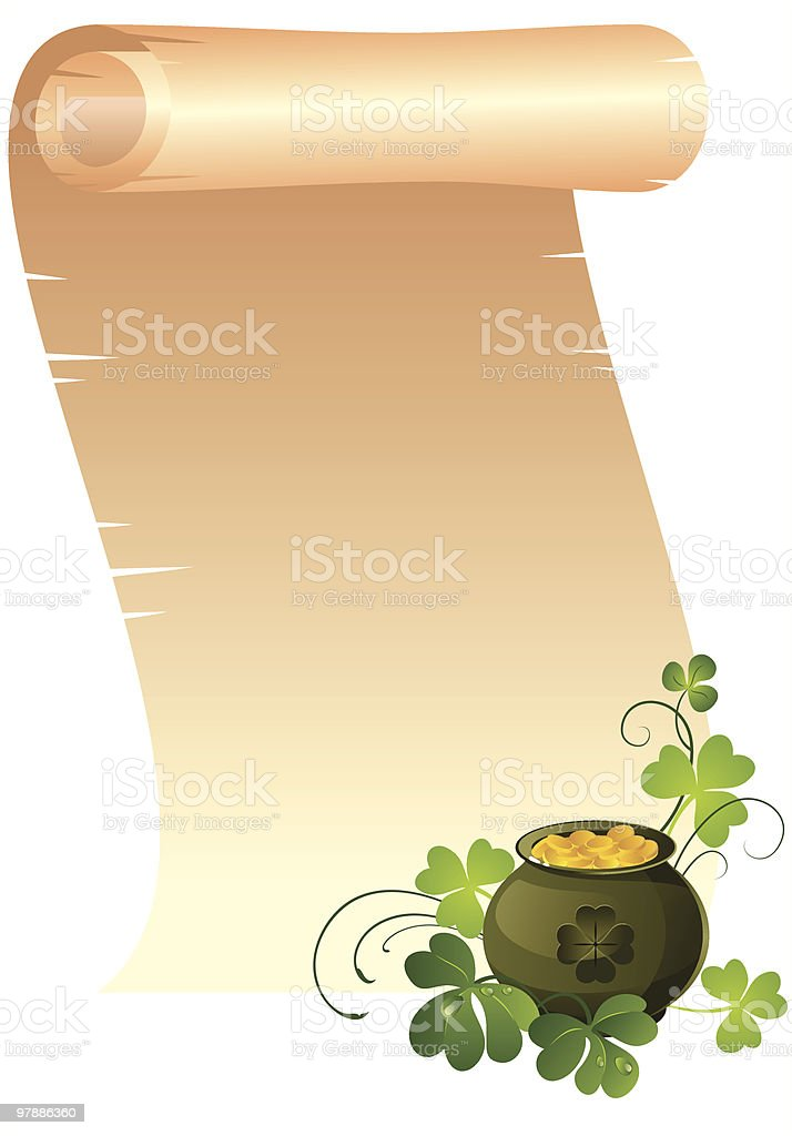 St.Patrick's Day background royalty-free stock vector art
