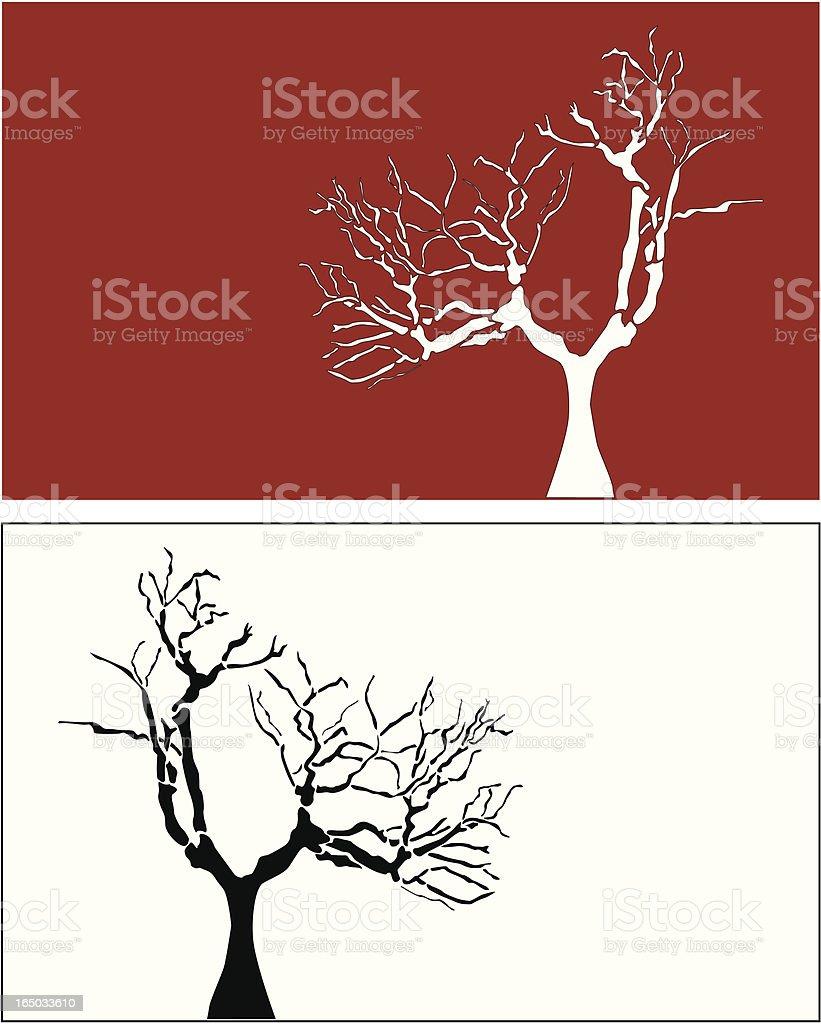 Strange Tree ( vector ) royalty-free stock vector art