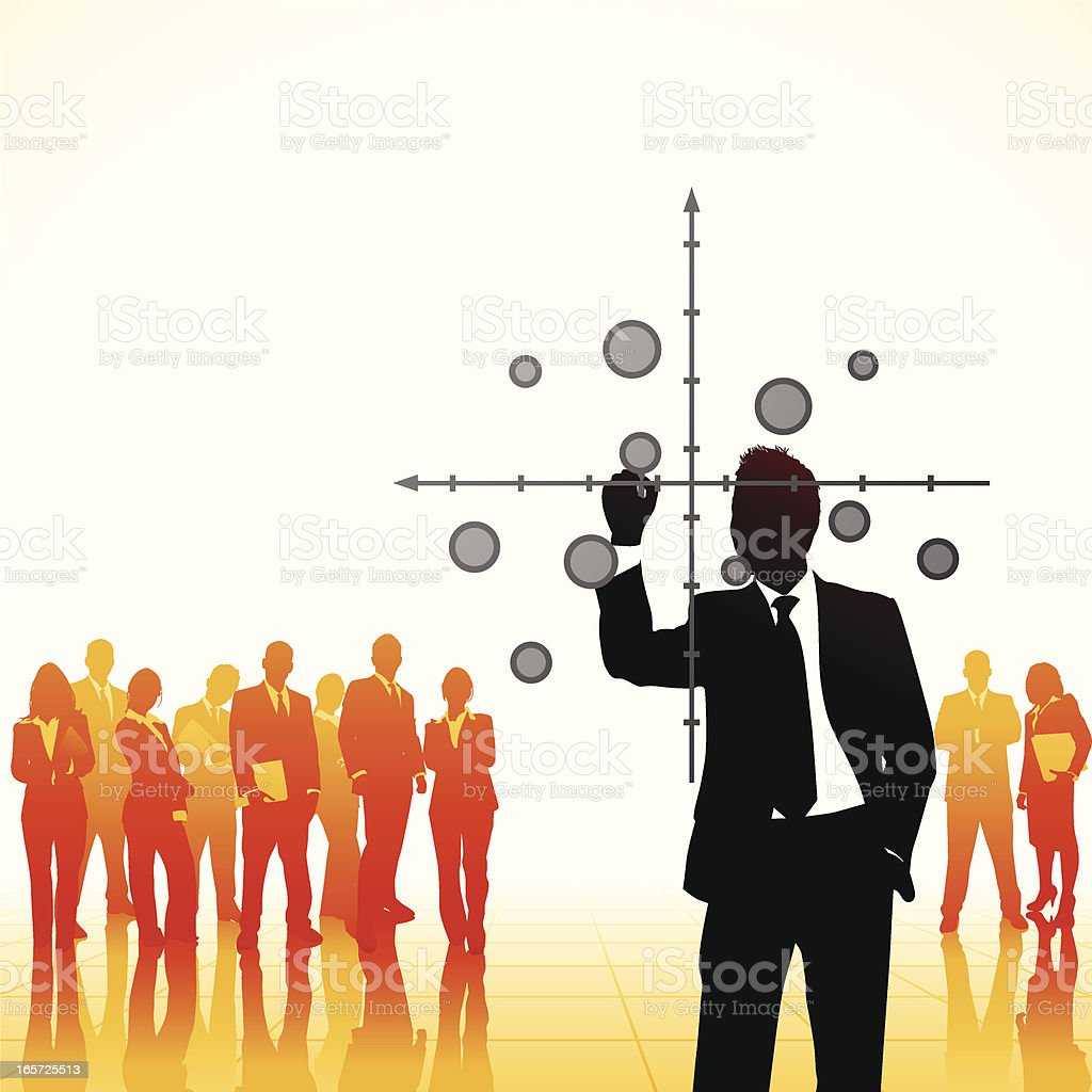 Strategy Consultant royalty-free stock vector art
