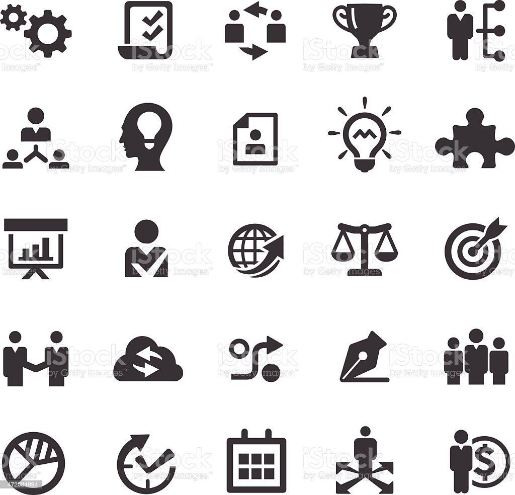 Strategy Icon - Smart Series vector art illustration