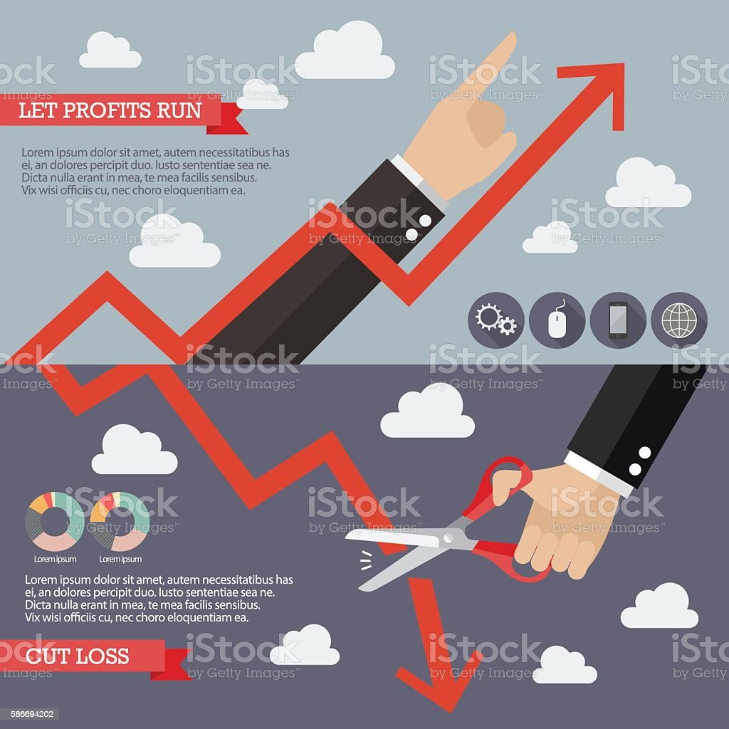 Strategy of Technical Analysis Infographic vector art illustration