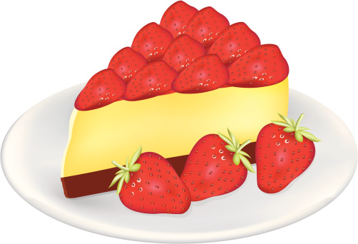 Strawberry Cheesecake Clipart - clipartsgram.com