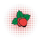 Strawberry comics icon