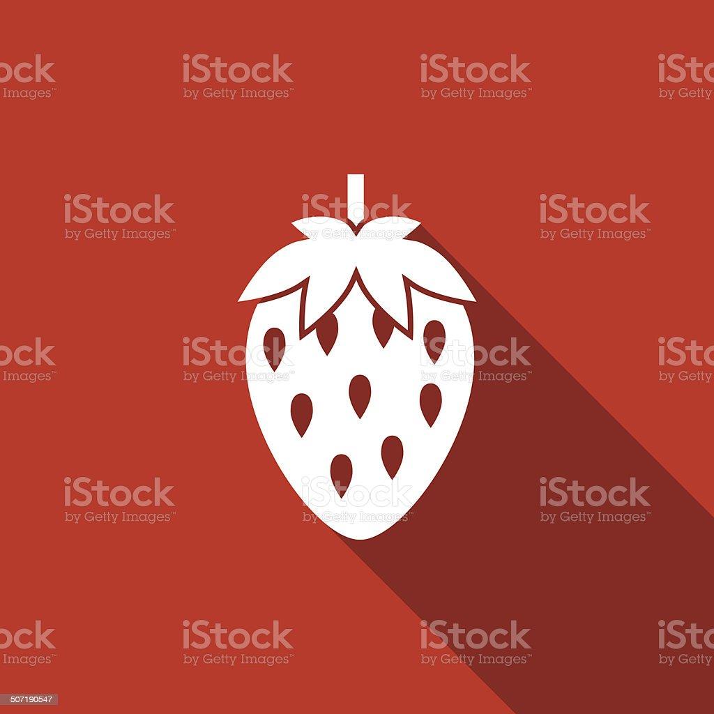 strawberry icon royalty-free stock vector art