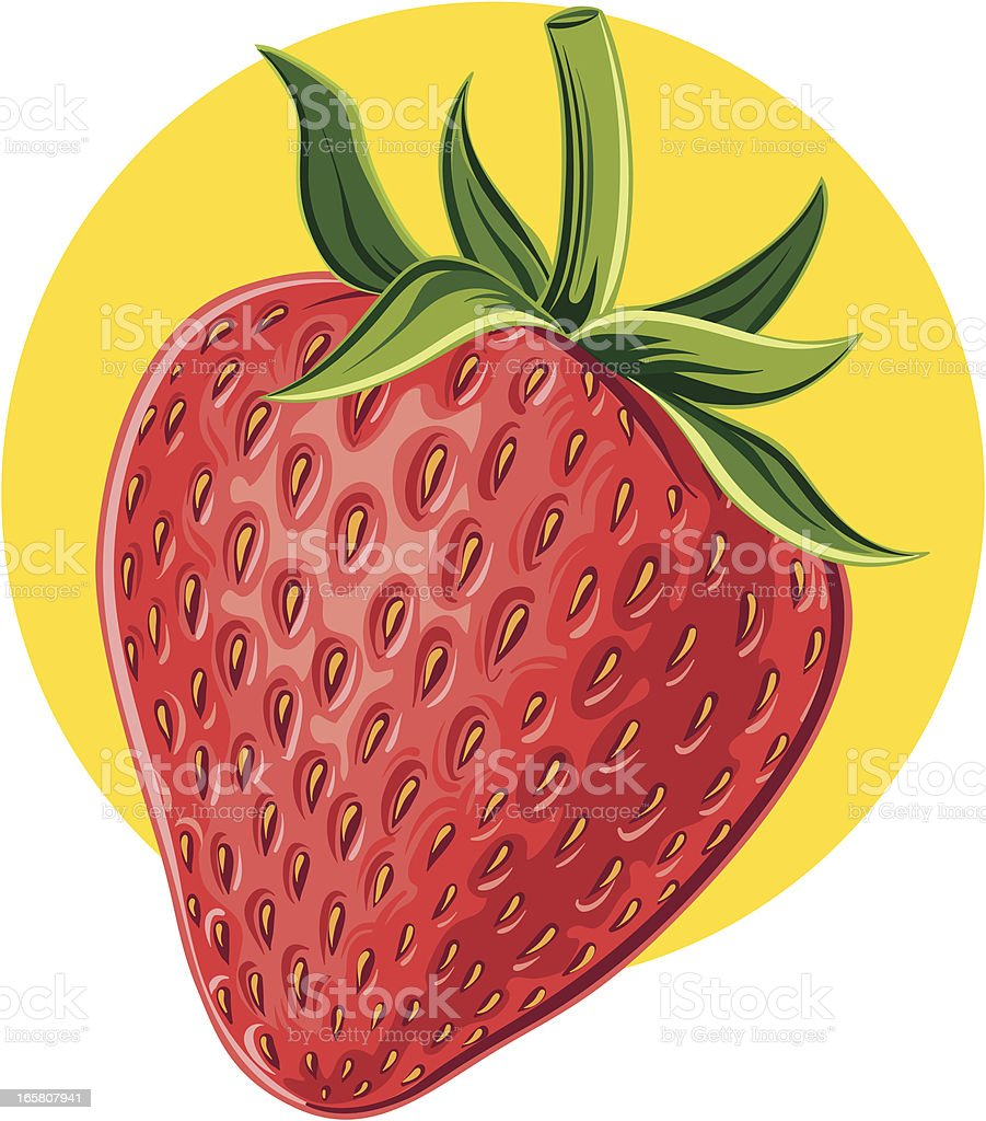 Strawberry royalty-free stock vector art