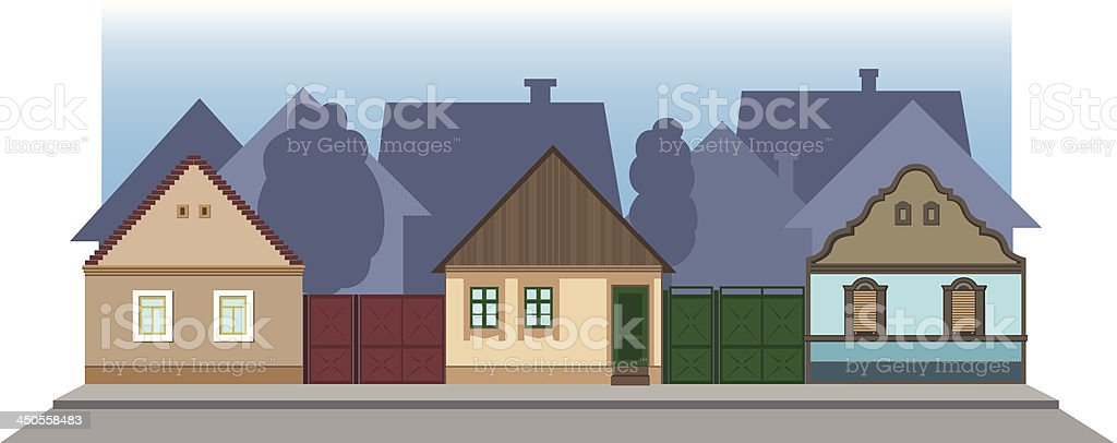 Street Architecture royalty-free stock vector art