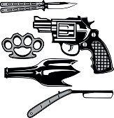 Street crime tools set