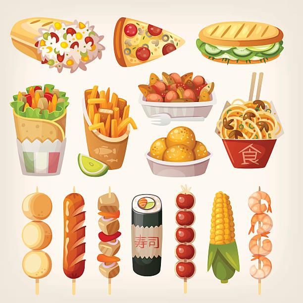 International Food Clip Art, Vector Images & Illustrations ...