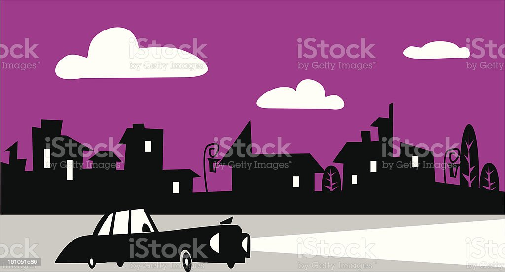 Street royalty-free stock vector art