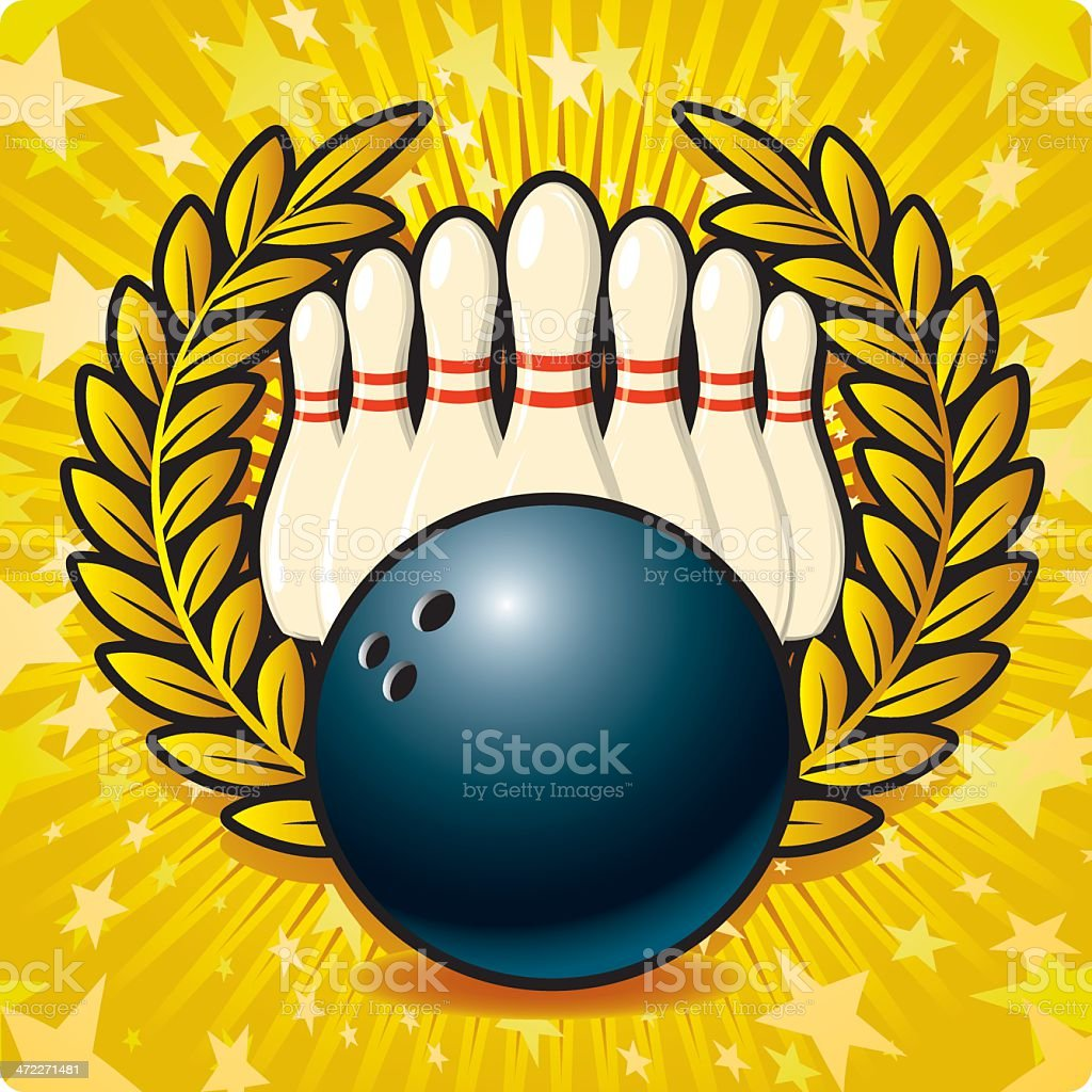 Strike! royalty-free stock vector art