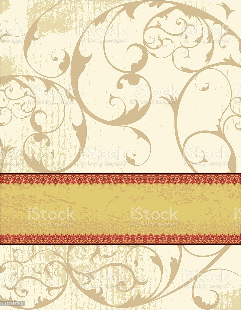 Stripe Banner royalty-free stock vector art