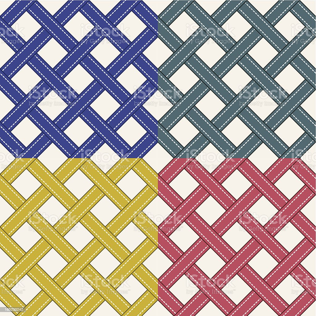 Stripe Pattern 01 vector art illustration