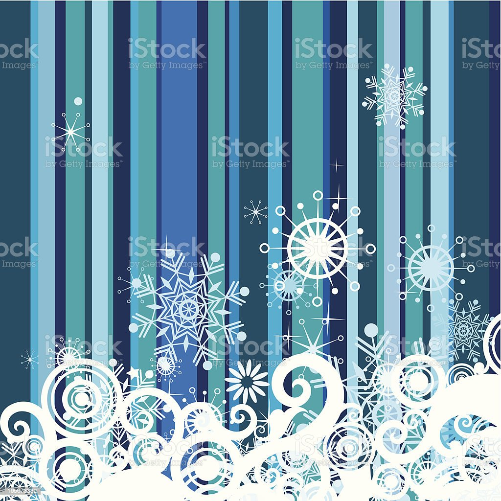 Striped Christmas background royalty-free stock vector art
