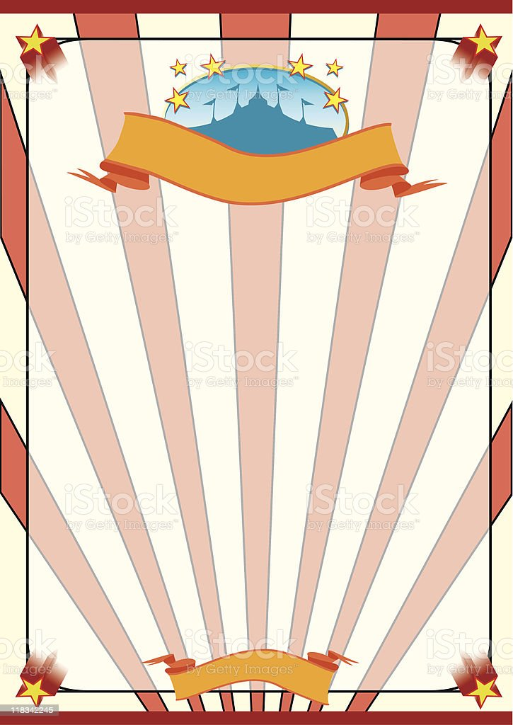 striped circus royalty-free stock vector art