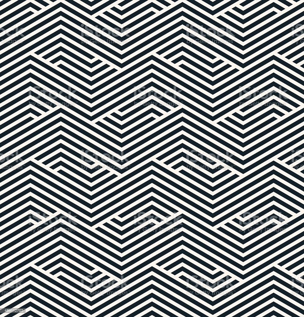 striped geometric pattern vector art illustration