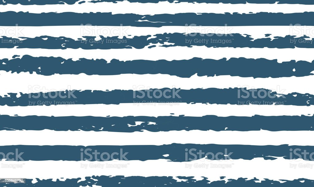 Striped seamless pattern hand-drawn vector art illustration