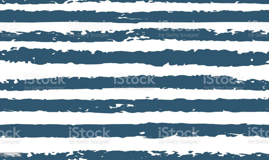 Striped seamless pattern hand-drawn vector art illustration