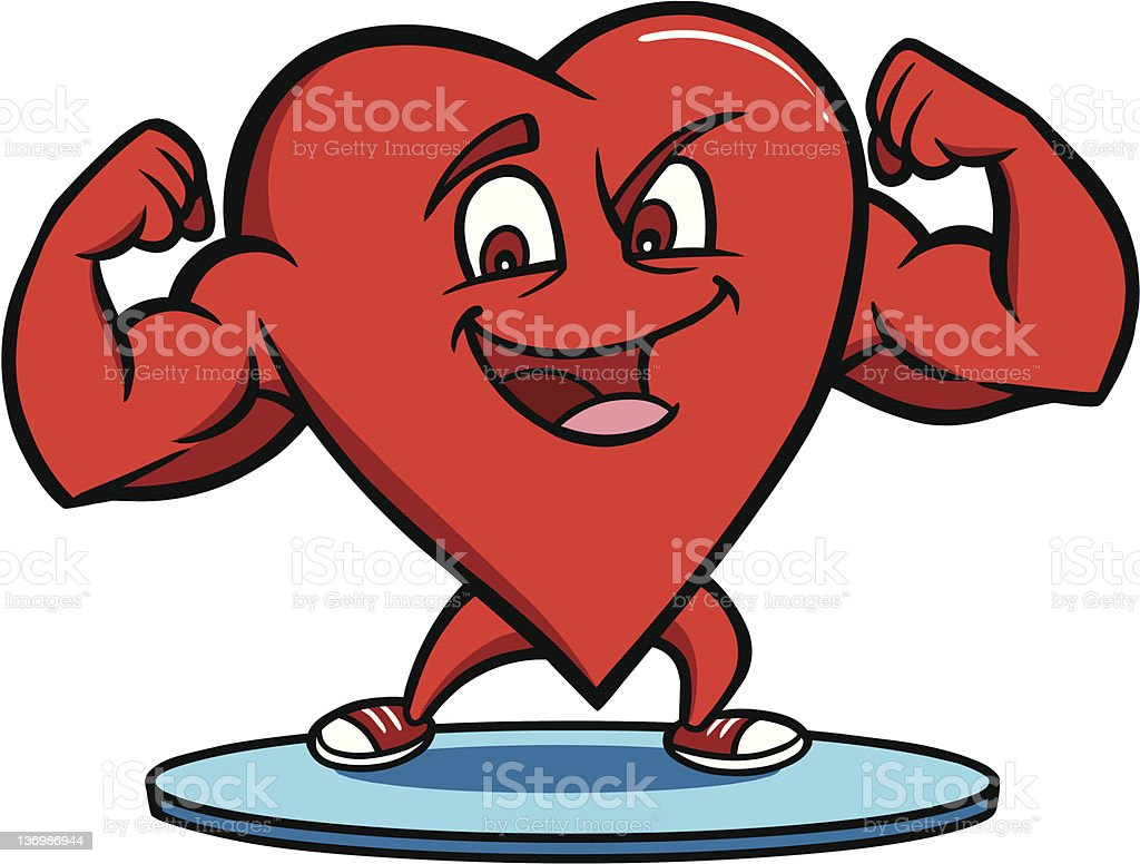 Strong Heart stock photo