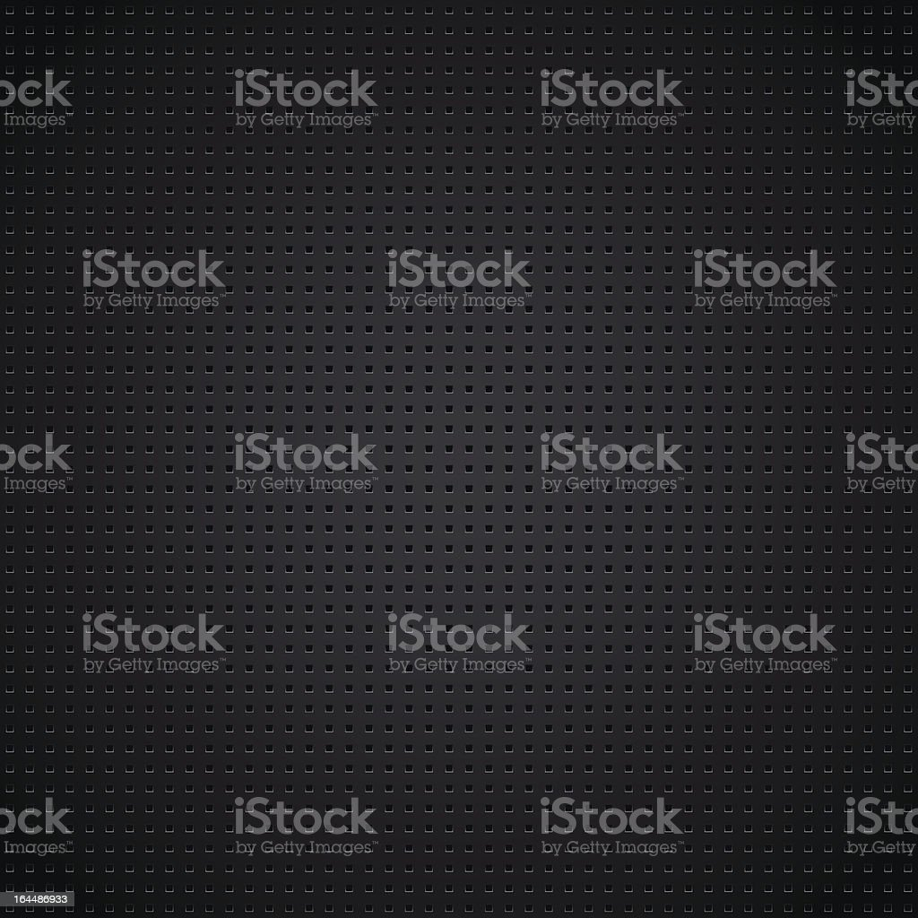 Structured metallic perforated sheet royalty-free stock vector art