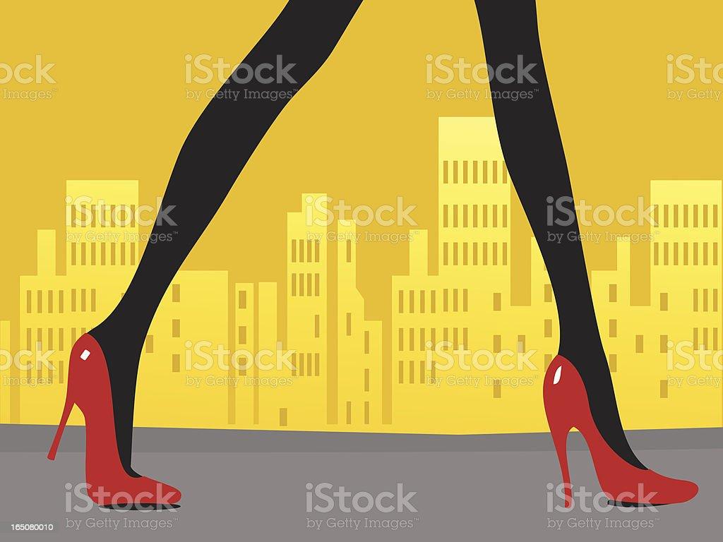 strut vector art illustration