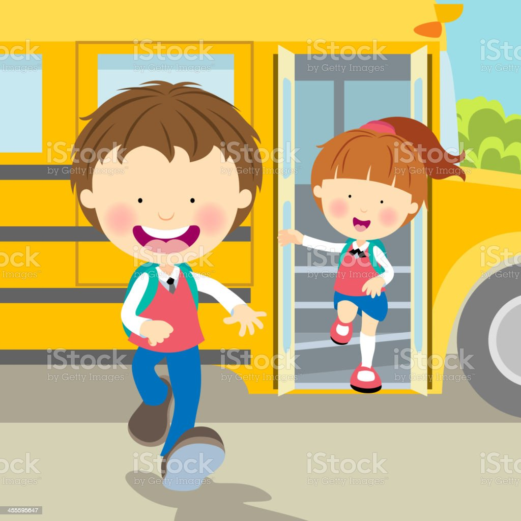 Student Back to School royalty-free stock vector art