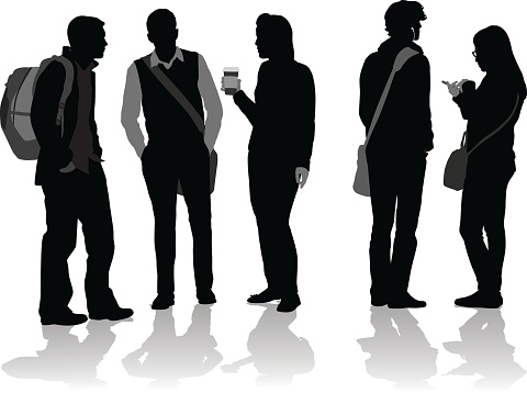 Silhouettes Clip Art, Vector Images & Illustrations - iStock