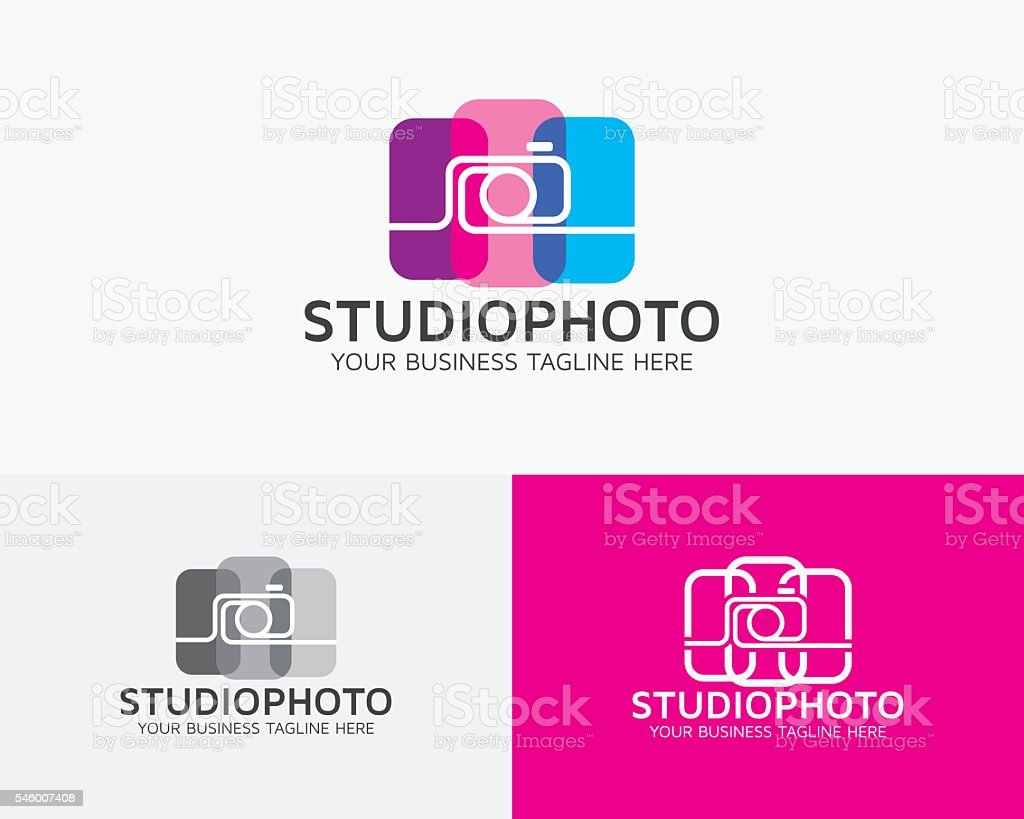 Studio Photo Vector Logo vector art illustration