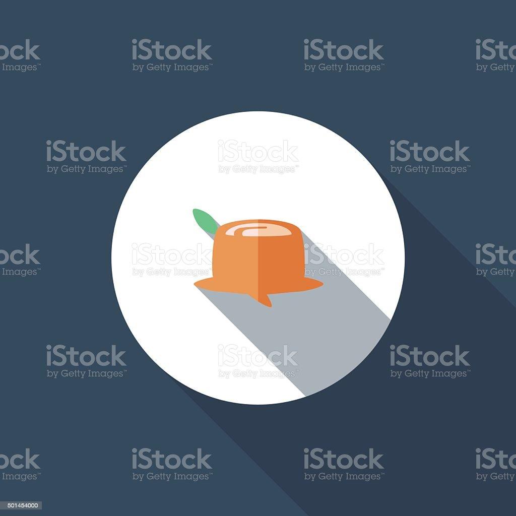 Stump vector art illustration