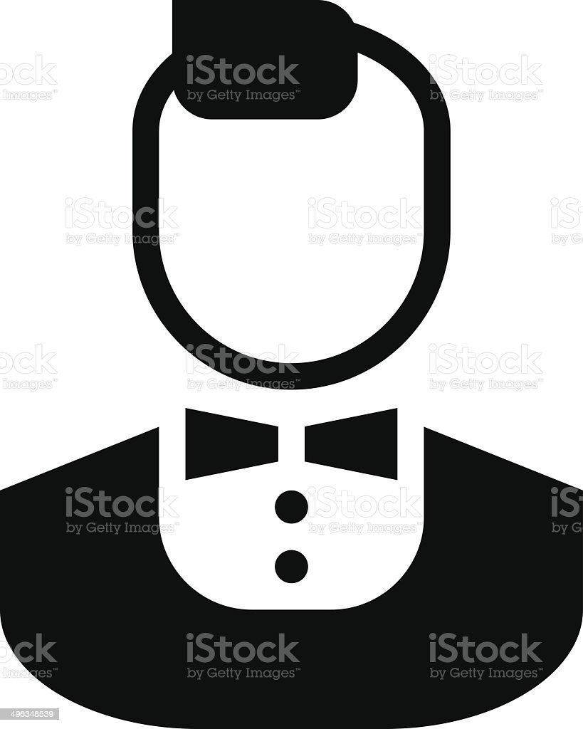 Stylish man icon royalty-free stock vector art