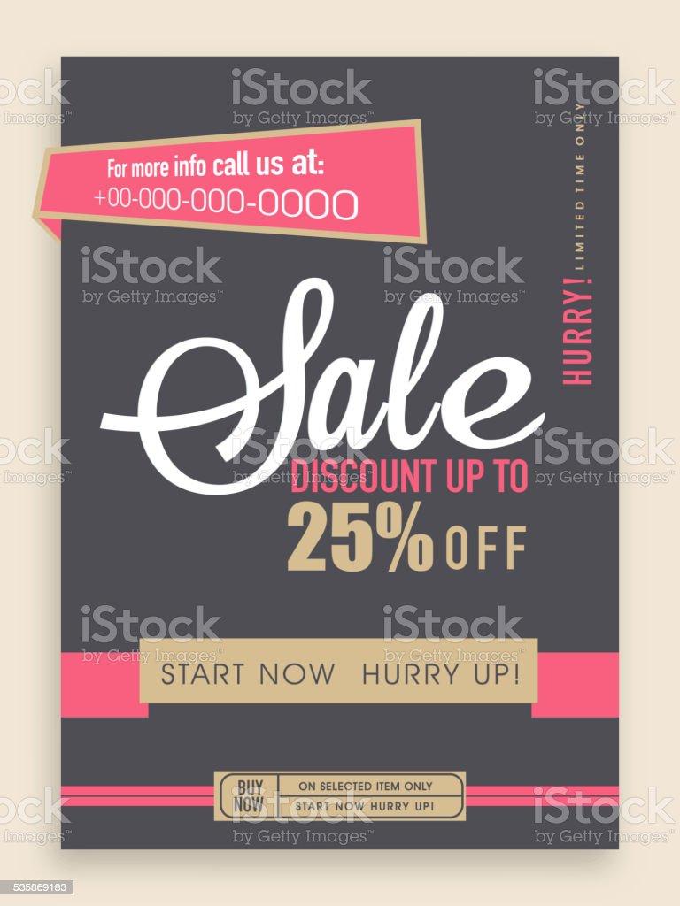 stylish flyer banner or template stock vector art  stylish flyer banner or template royalty stock vector art