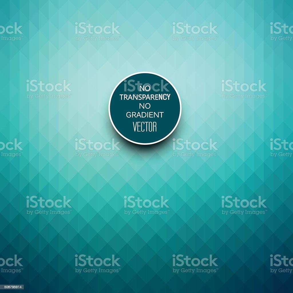 Stylish turquoise blue geometric background vector art illustration