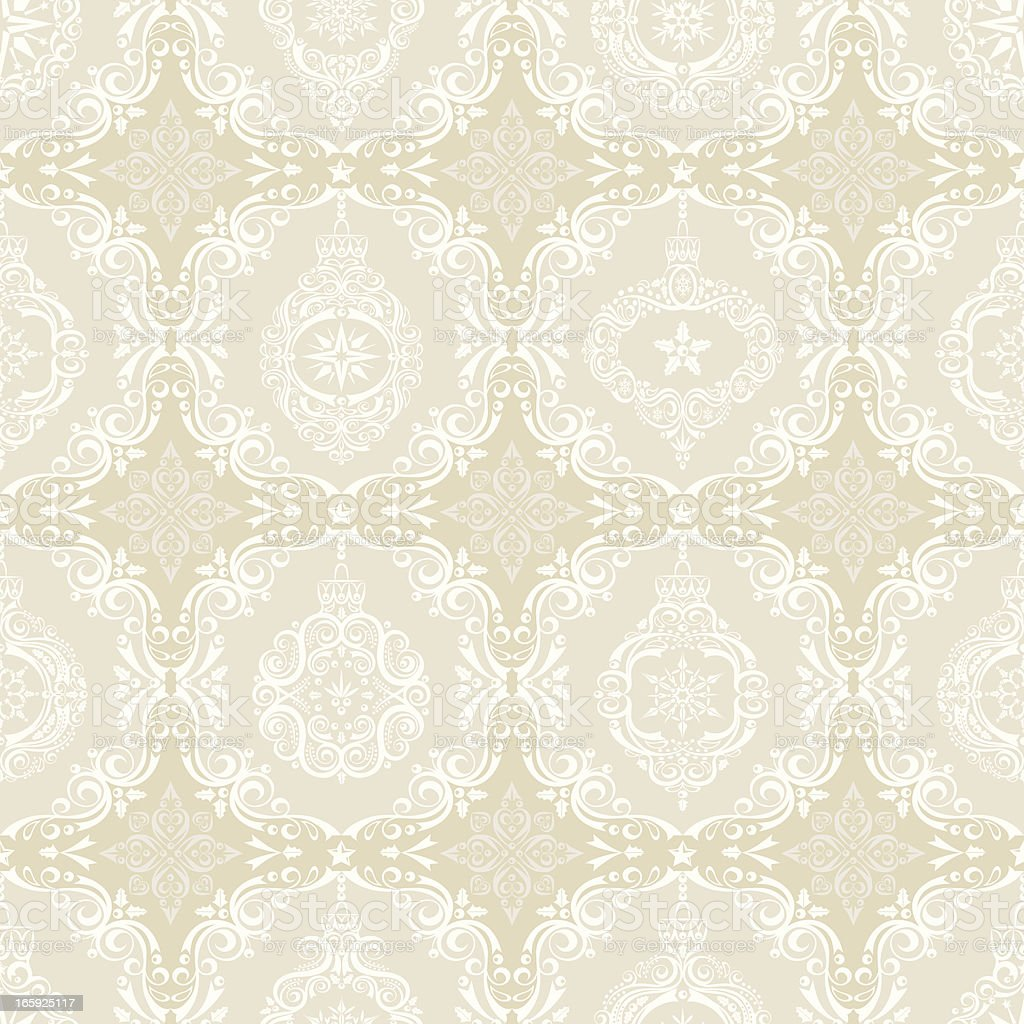 Stylized Lacy Ornaments Seamless Pattern royalty-free stock vector art