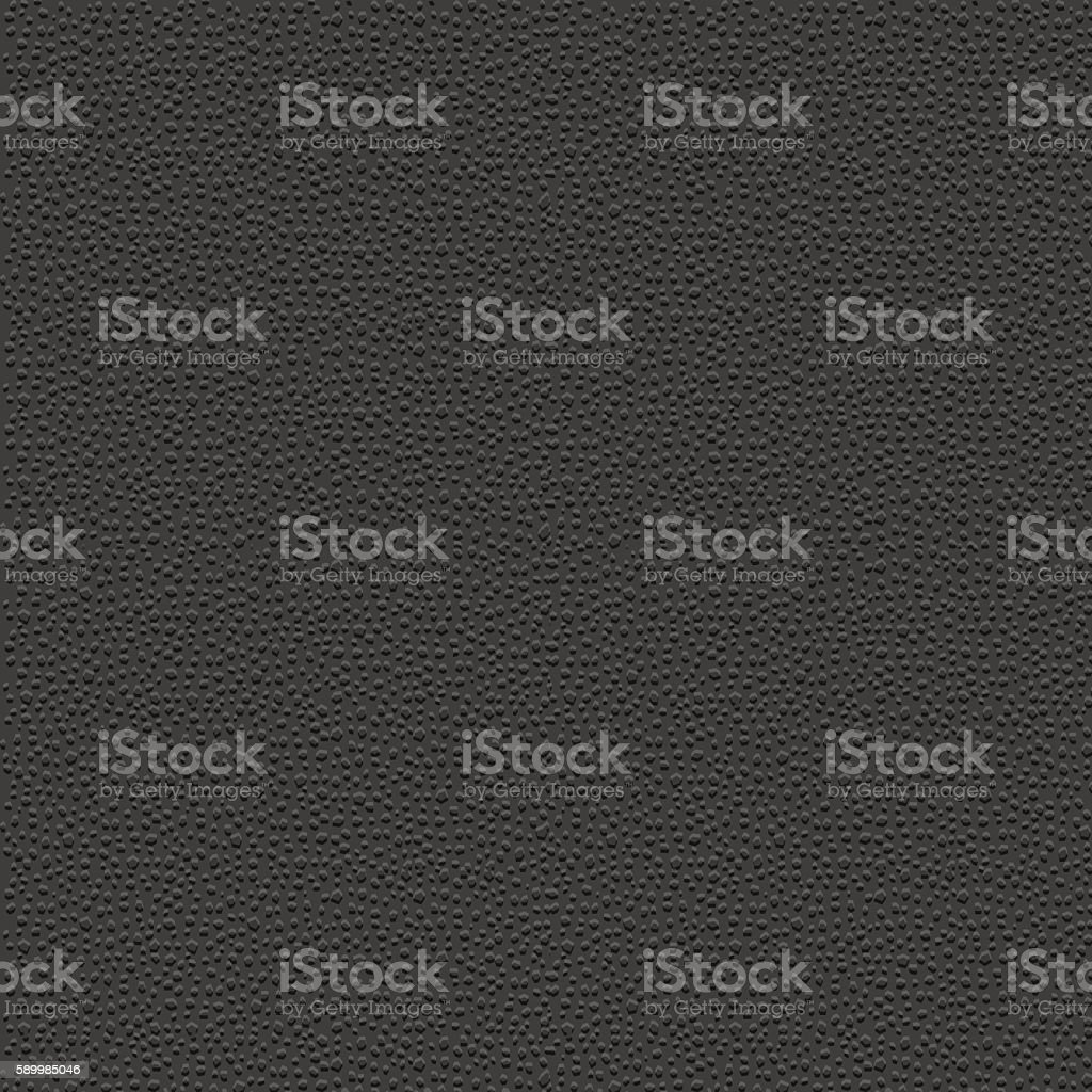 Stylized leather - black granular textured background vector art illustration