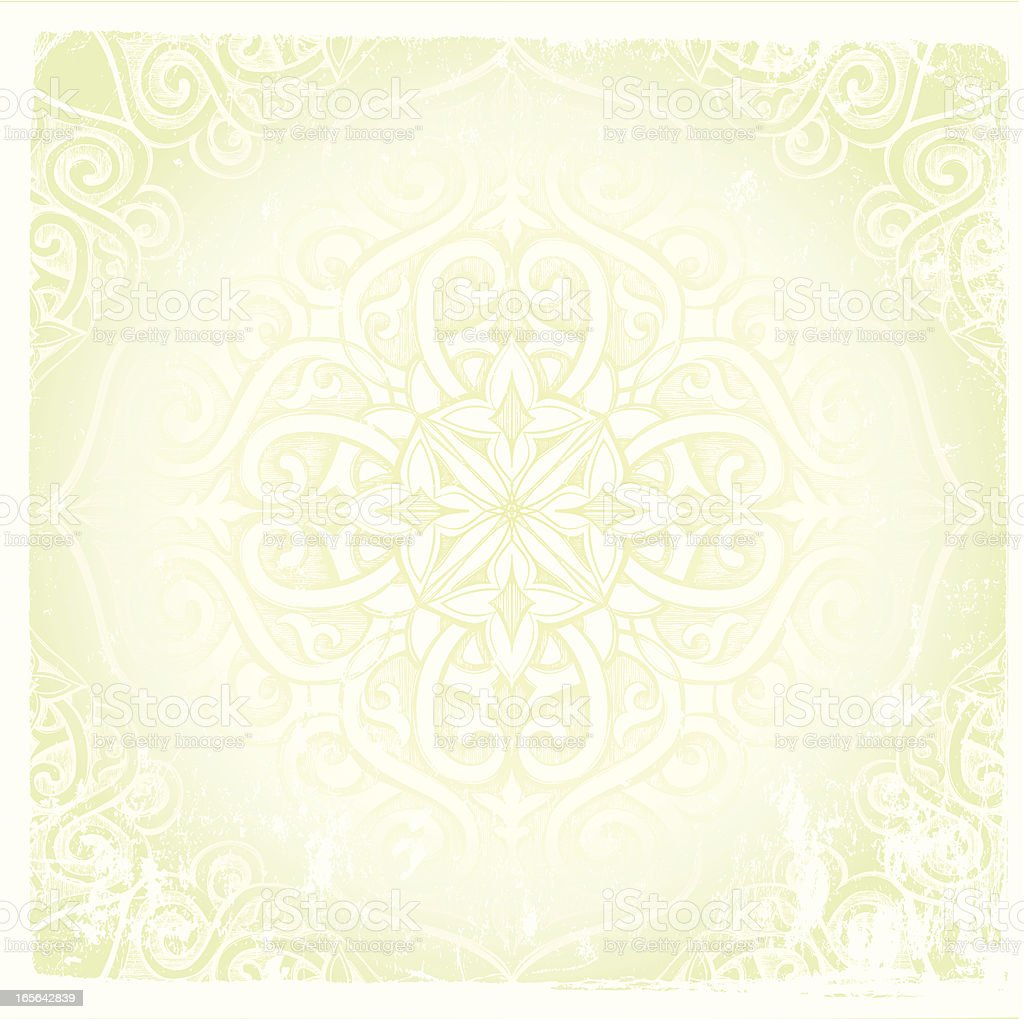 subtle mandala royalty-free stock vector art