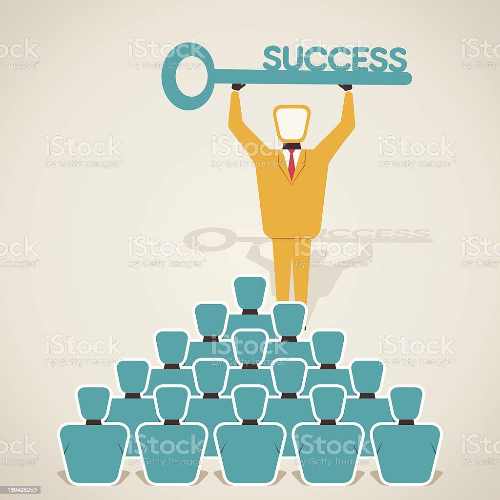 success concept royalty-free stock vector art