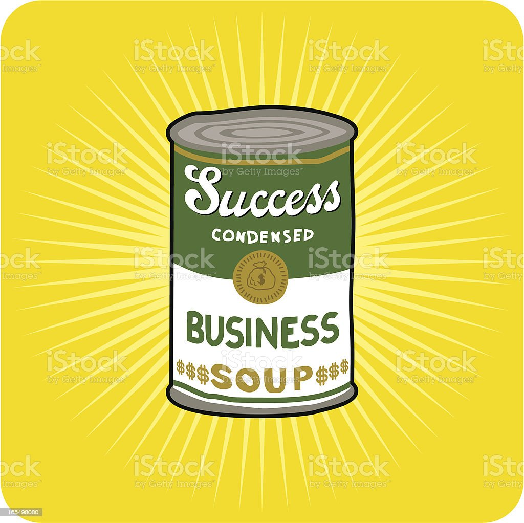 Success Condensed royalty-free stock vector art