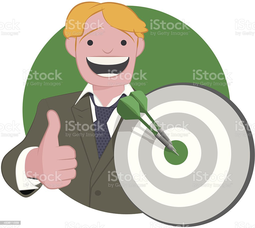 Success in Business royalty-free stock vector art