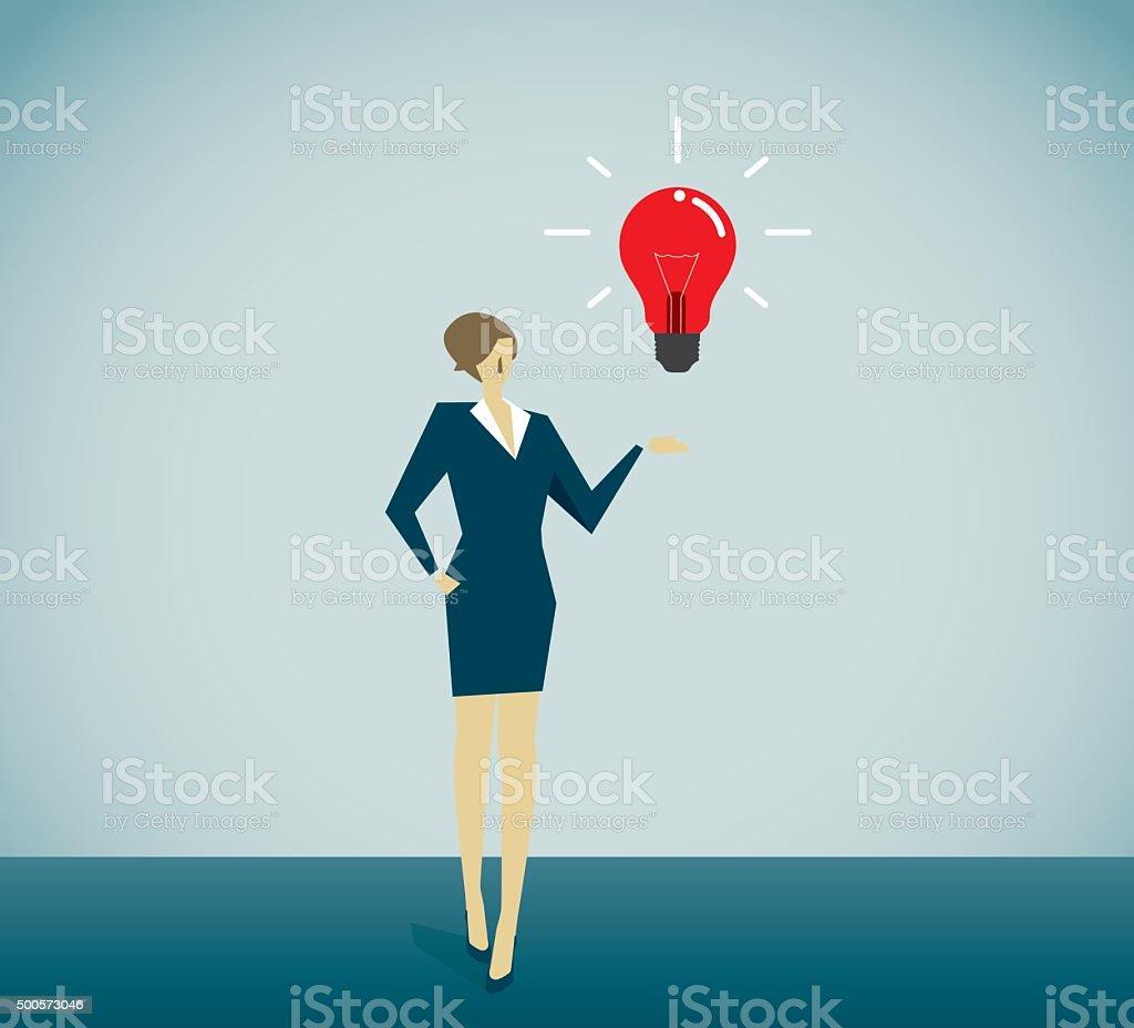 Success People vector art illustration