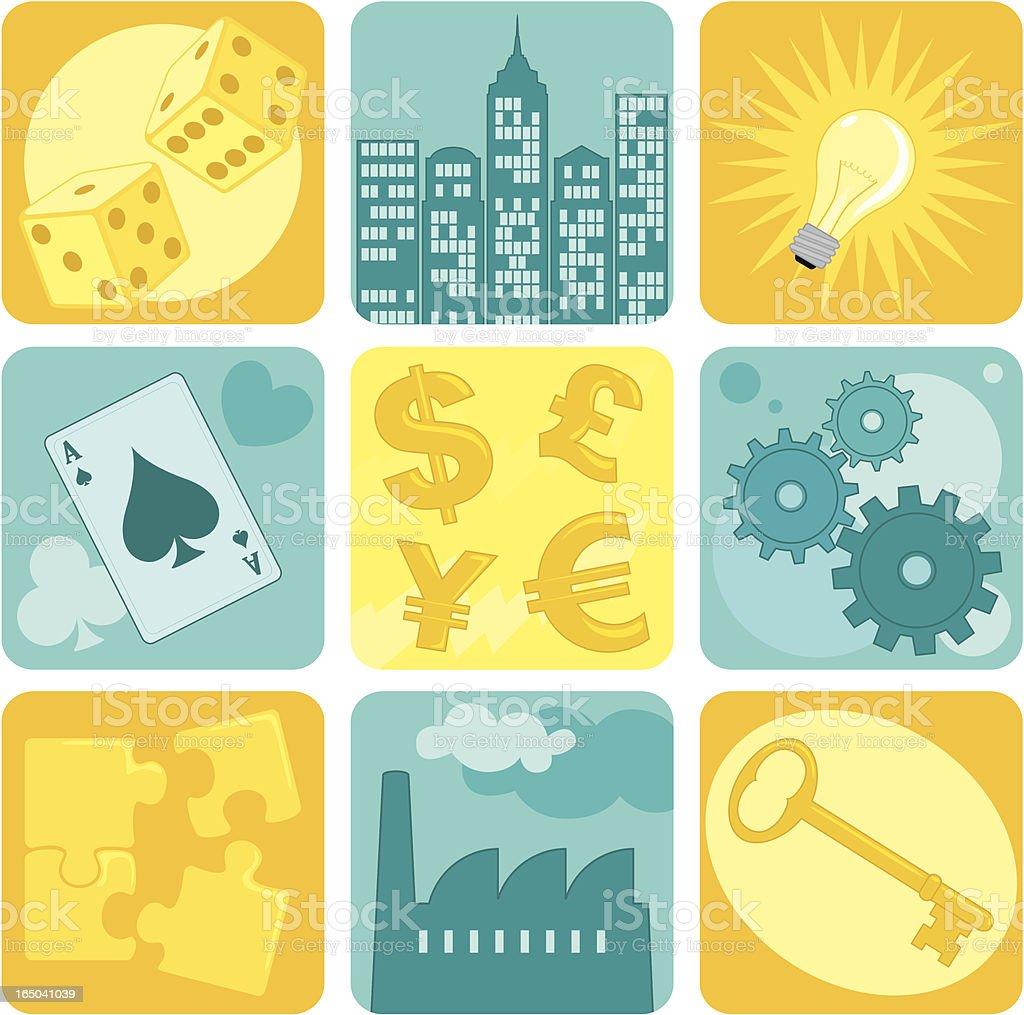 Success & Solutions - incl. jpeg royalty-free stock vector art