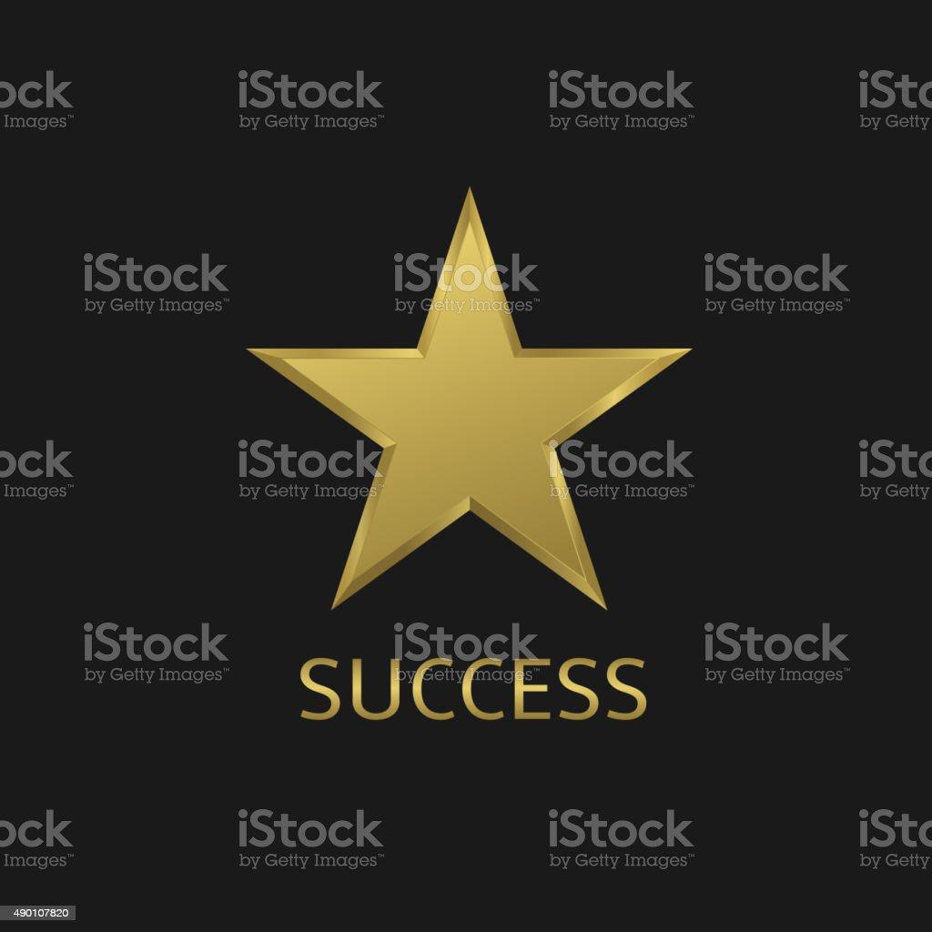 Success symbol vector art illustration