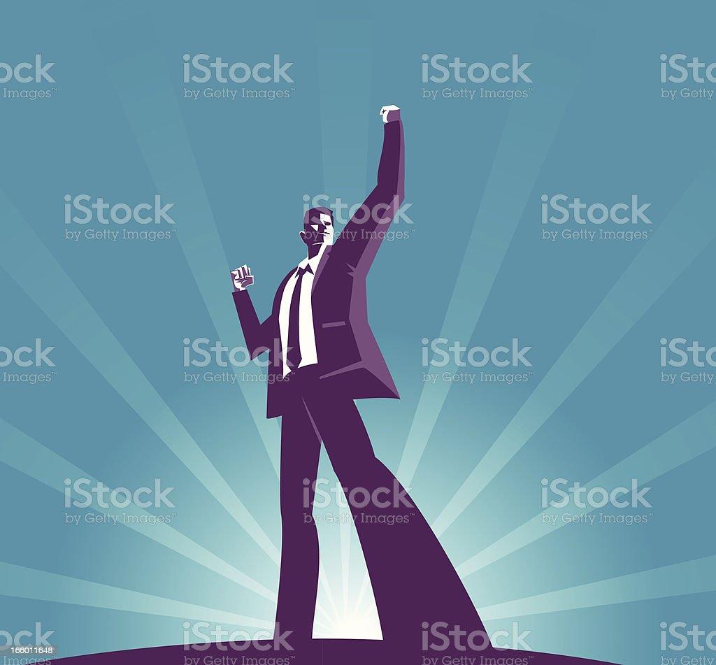 Success royalty-free stock vector art