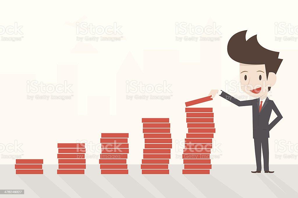 successful businessman royalty-free stock vector art